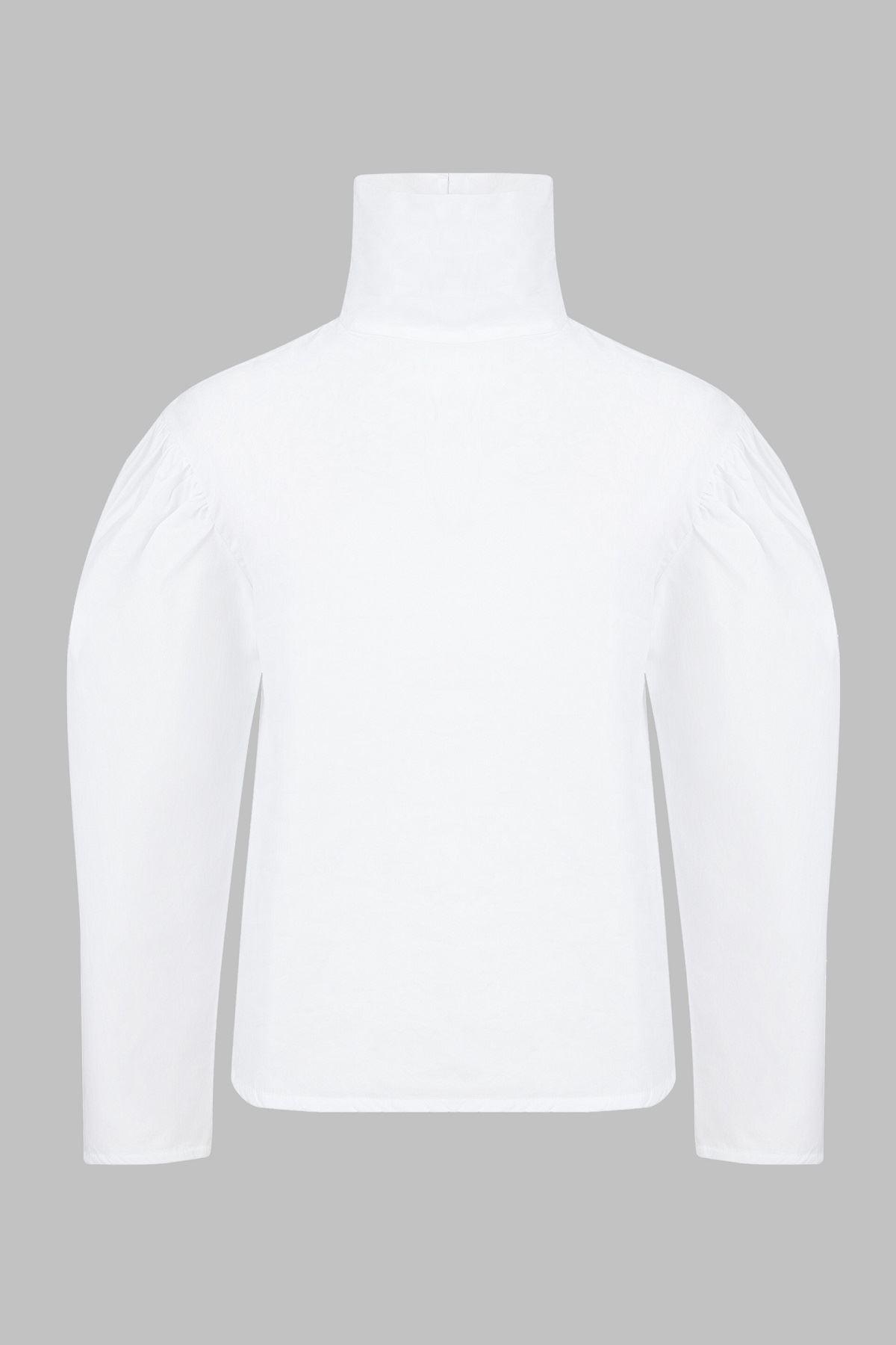Balıkçı Yaka Karpuzkollu Gömlek