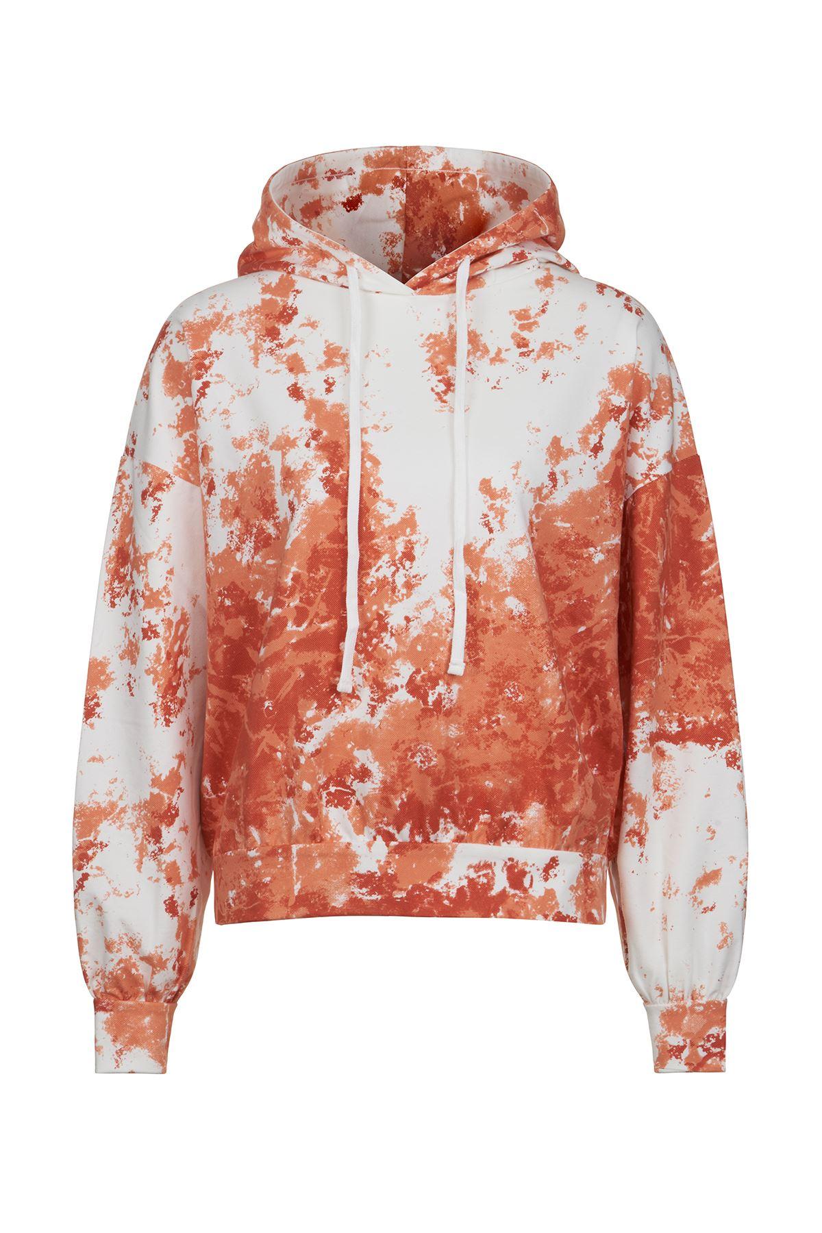 Turuncu Batik Sweatshirt