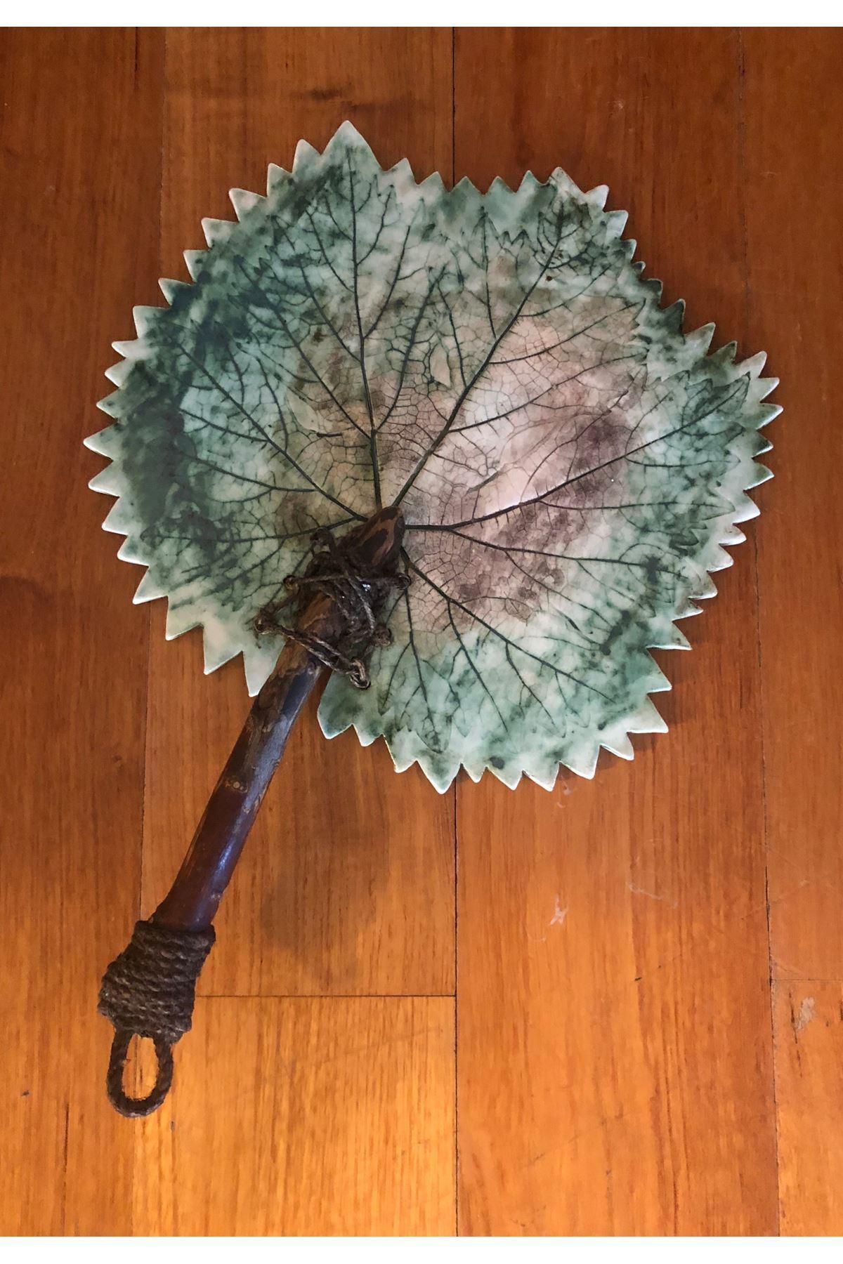 Asma Yaprağı Peyır Tabagı Tuval Hedıyelık