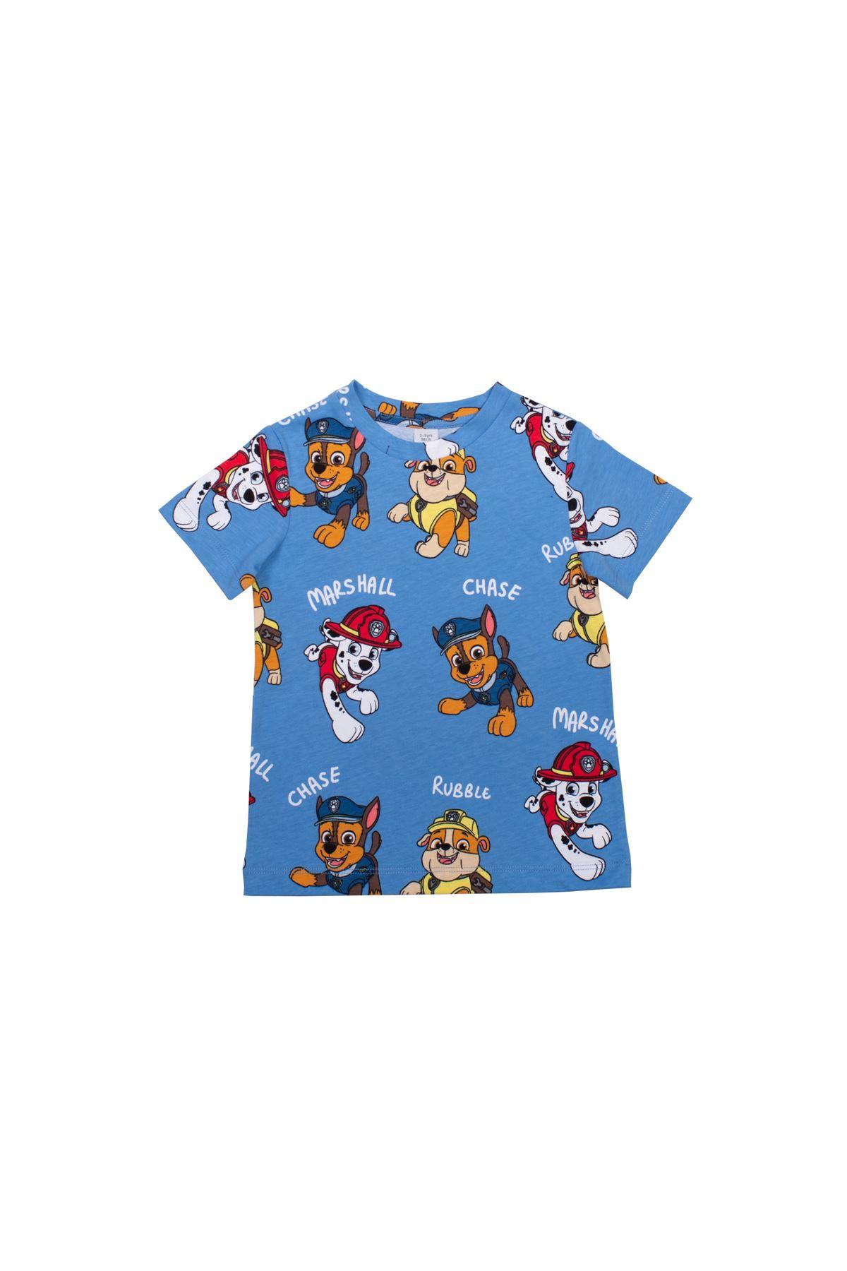 Çocuk Köpek Baskılı Tshirt