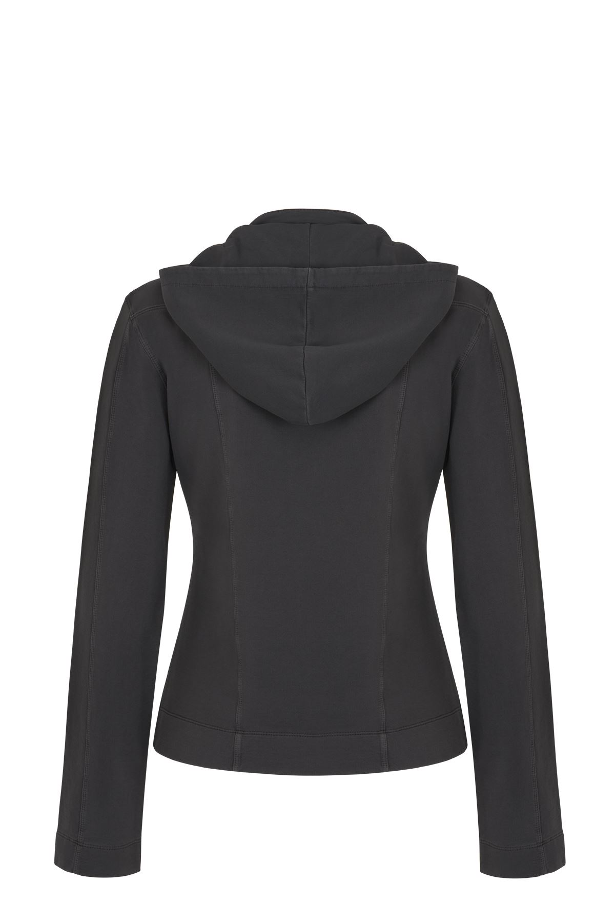 Bayan Hoddy Blazer Ceket (Antrasit)